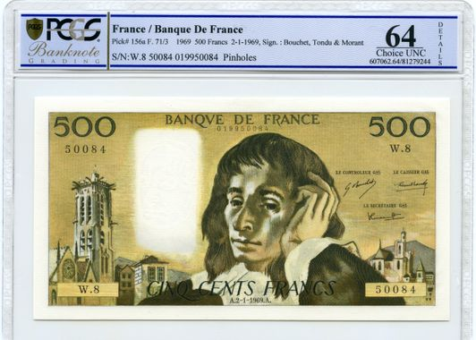 Cert 81279244 - Banknote Obverse