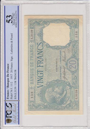 Cert 84322771 - Banknote Obverse