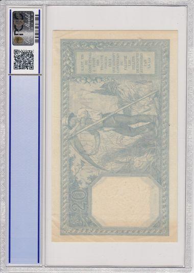 Cert 84322771 - Banknote Reverse