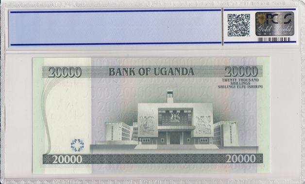 Cert 34483062 - Banknote Reverse
